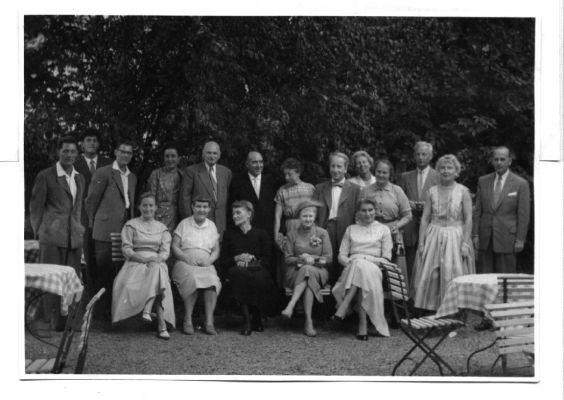 Familienbild von 1957 in Korntal